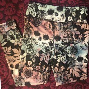 Pretty Skulls Ankle/Capri - Evolution & Creation
